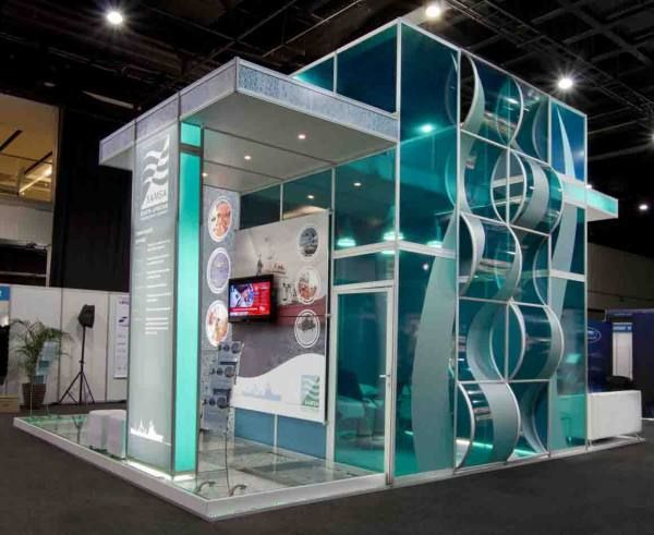 Exhibition Booth Design Award : Octanorm stand google keresés space