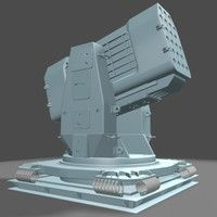 airframe missile launcher 3d model