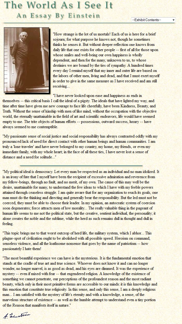einstein essays in feminism Albert einstein biography essays religion belief essay american enterprise institute feminism essay cheap dissertation writing zoning maps jins meme essay.
