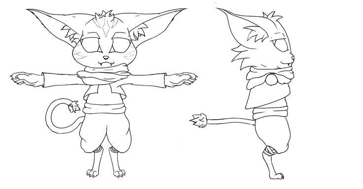 Gulu's Last Hope - Concept art character 2