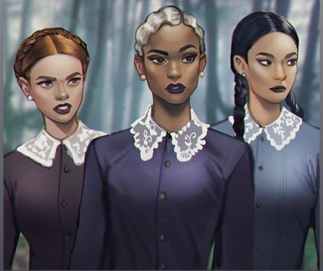 Weird Sisters Fanart 1