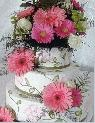 add flowers to your cake
