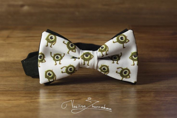 Monsters Inc,Mike Wazowski Bowtie, Bows, Bow Ties, Bowties, Bow Ties, Bow Ties, BowTie, Creative bow tie, Funny bow tie, Designer bowtie by BowTiesFactory on Etsy https://www.etsy.com/listing/478268132/monsters-incmike-wazowski-bowtie-bows