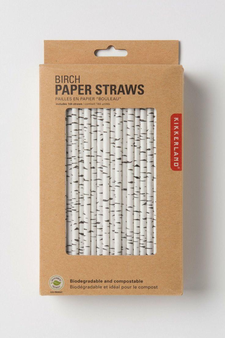 Canadian Birch Straws