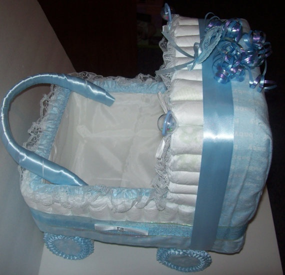 Diaper Stroller Diaper Cakes And More Pinterest