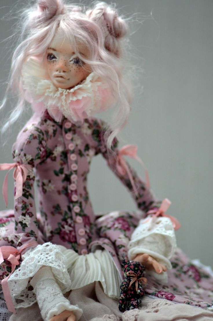 """Albertina "", dollartist Vika Shalaeva #doll #куклы"