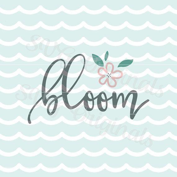 Archivo de Vector de SVG de flores de Pascua SVG floración de primavera. Bonito para tantos usos! Cricut explorar y mucho más. Feliz Pascua Hola primavera SVG