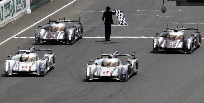Audi take a 1-2-3-5 at Le Mans, 2012