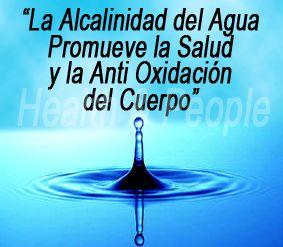 agua alcalina, fuente de salud