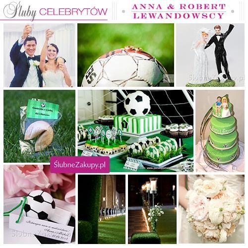Śluby celebrytów: Anna i Robert Lewandowscy #slub #wesele #sklepslubny