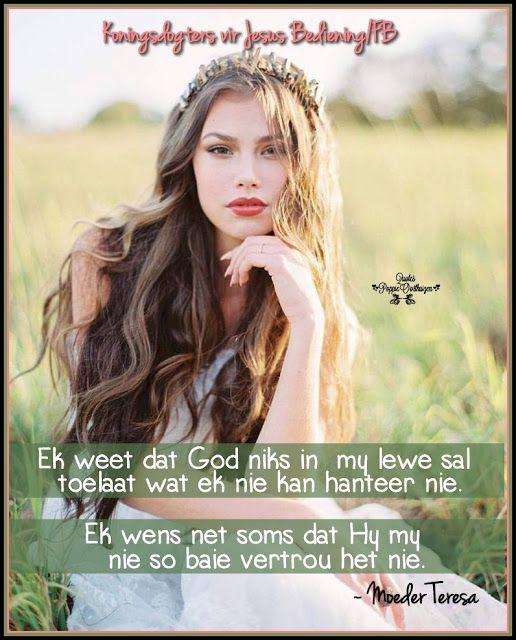 Christelike Boodskappies: Ek weet dat God ...