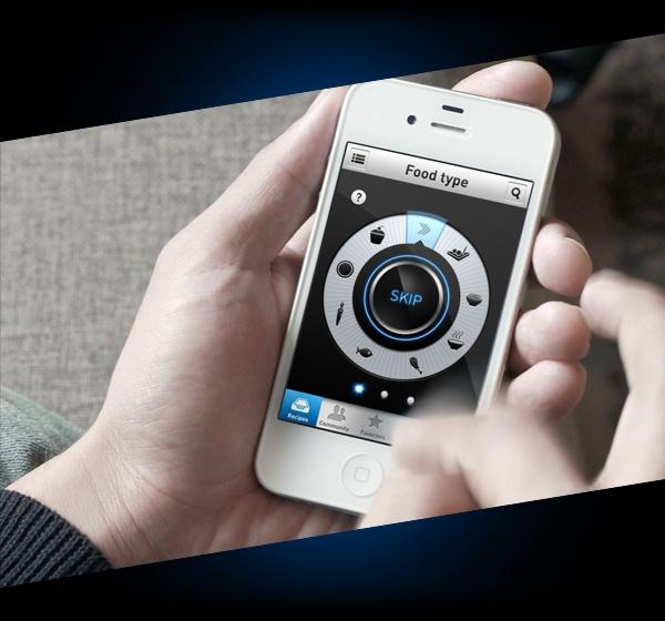 Made in Microwave - Whirlpool App by Santi Urso, via Behance