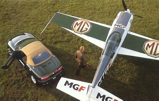 MG F Brooklands (Abingdon)