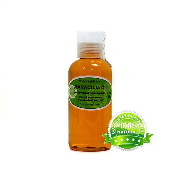 2 oz Maracuja oil 100% pure organic Passionfruit oil Cold