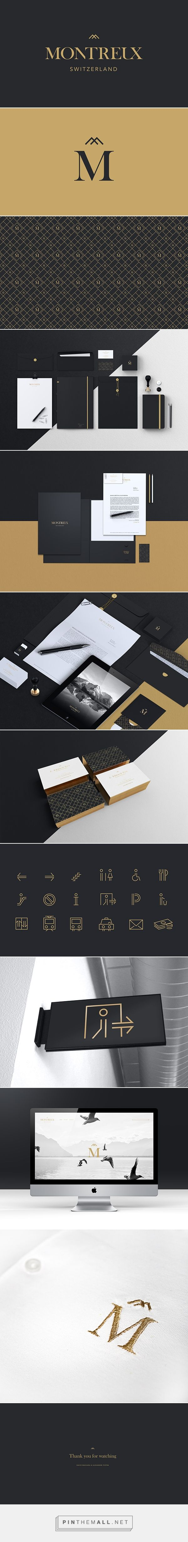 Montreux | Branding on Branding Served - created via http://pinthemall.net
