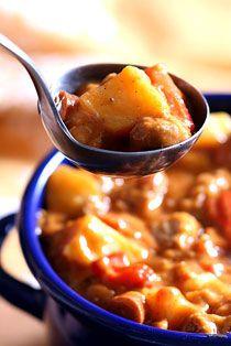 Cikánský guláš s brambory