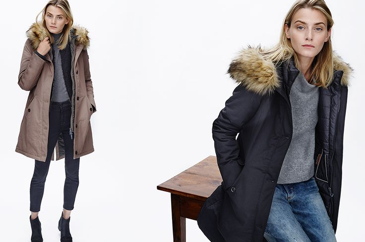 SEPTEMBER: Time to get your wardrobe fall proof with a cozy winter parka! #winterparka #marcopolo #followyournature