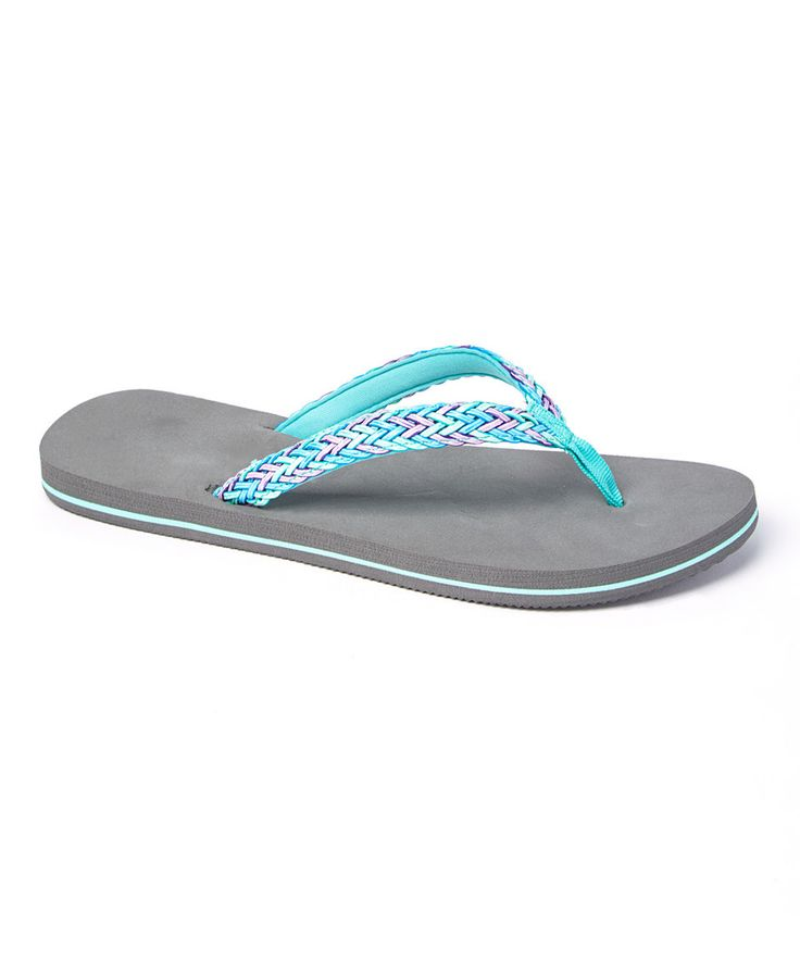 Take a look at this Raya Sun Marine Chevron Flip-Flop - Women today!