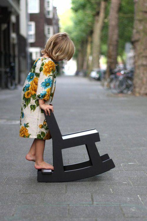 ~Kids Style, Rocks Chairs, Children Furniture, Kids Fashion, Vintage Pattern, Flower Children, Kids Clothing, Kids Decor, Floral Dresses