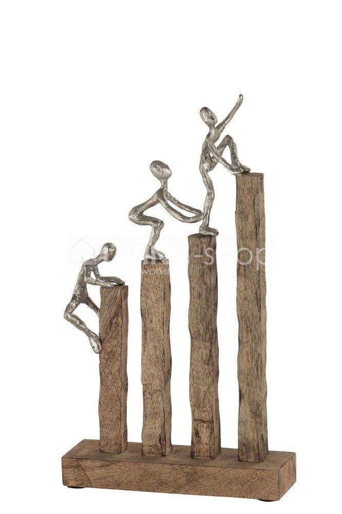Beeld 3 Klimmers Mangohout J Line Figuren Op Trap Jline Beelden Decoratie Livingshop Stijlvolwon Decoratie Keramische Vormgeving Makkelijke Huis Decoratie