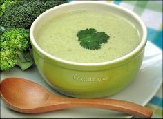 Creme de Brócolis ~ PANELATERAPIA - Blog de Culinária, Gastronomia e Receitas Mais