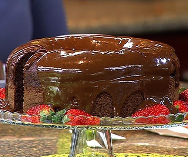 Receta: Queque de chocolate con lustre - Estilo de Vida