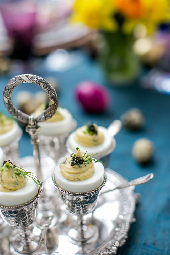 Check out these stunning silver egg cups!  Deviled-eggs-with-herbs-salmon-and-osetra-caviar.jpg