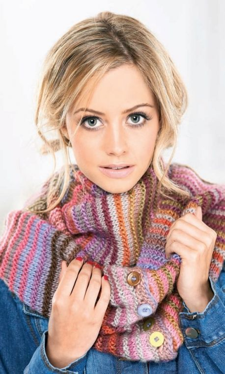 Multiway Wrap - Let's Knit Magazine - Free pattern download!