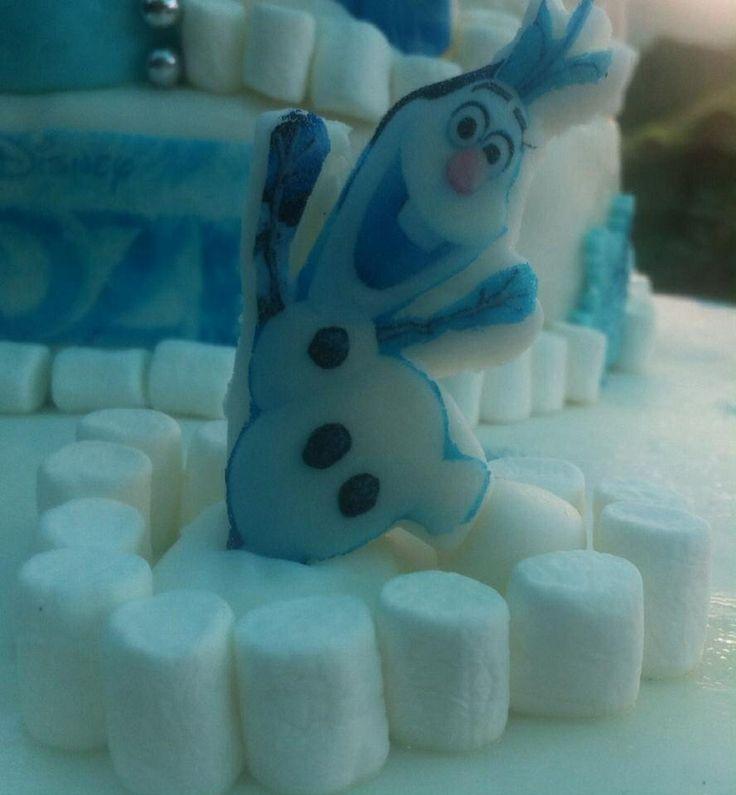 Torta Frozen -Olaf