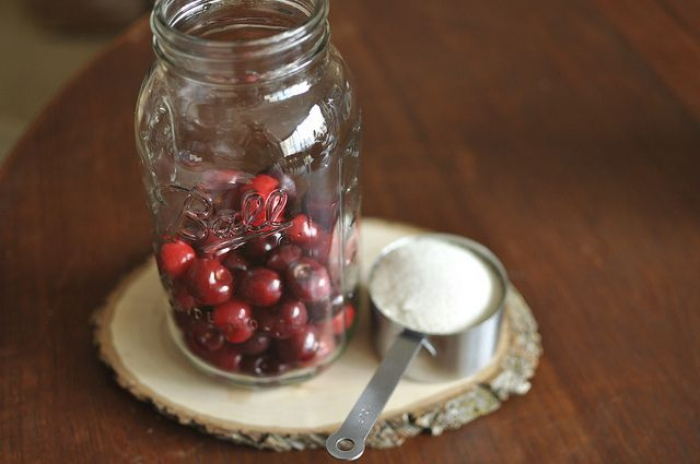 a pound of cherries and a cup of sugar by Marisa | Food in Jars, via Flickr