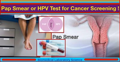 Middle-age Women can Choose Pap smear or HPV Test for Cancer Screening !