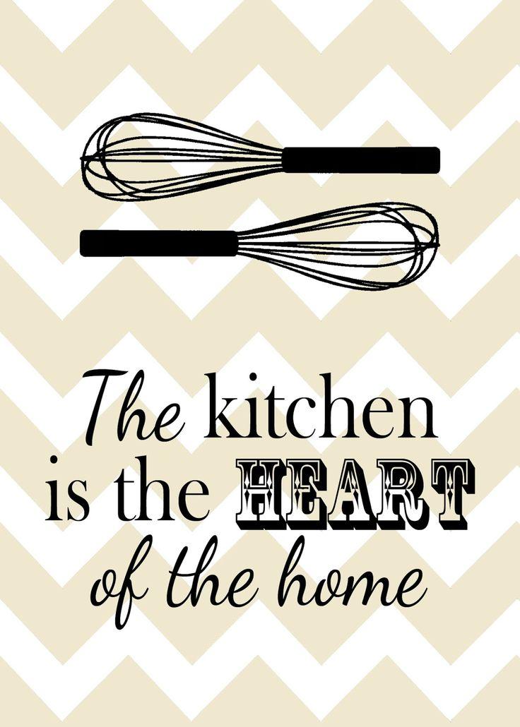 Kicking Ass & Crafting: Kitchen poster printables