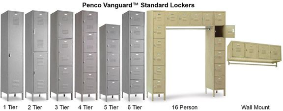 We are a distributor for Penco lockers.