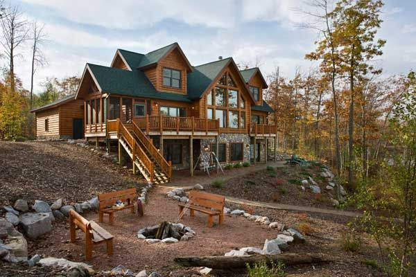 107 Best Images About Log Homes On Pinterest Lakes