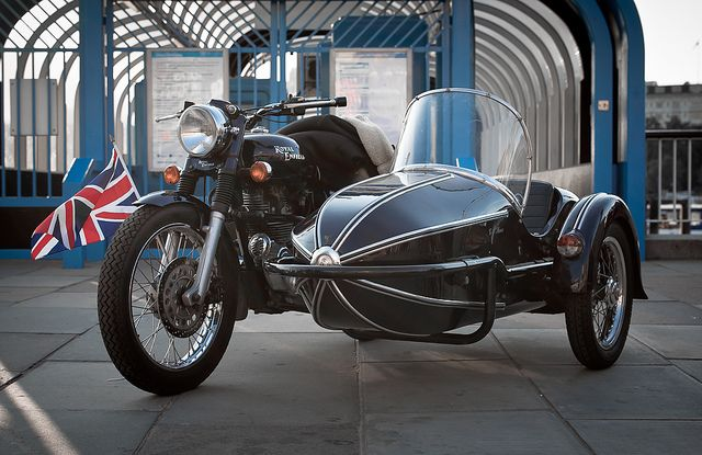Royal Enfield and Sidecar