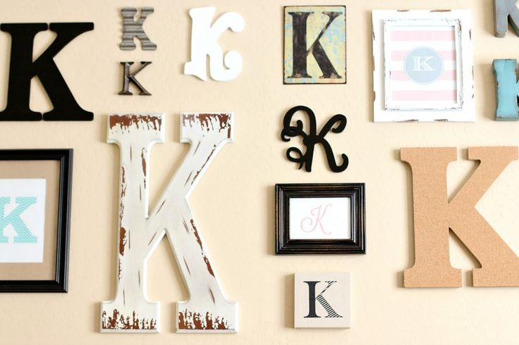 1000 ideas about monogram wall hangings on pinterest With kitchen cabinets lowes with initial wall art monogram