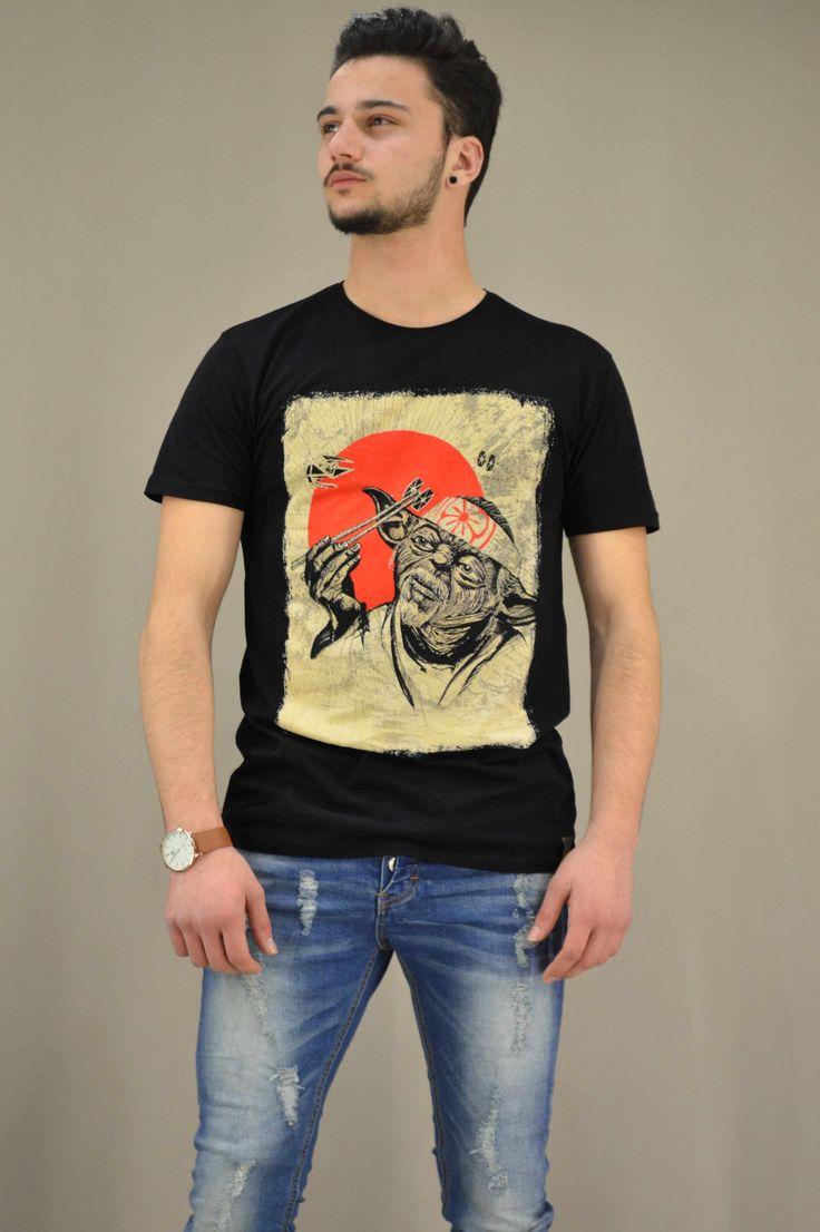 Ανδρικό t-shirt Star Wars Υoda Japan | Άνδρας - T-shirts/Μπλούζες