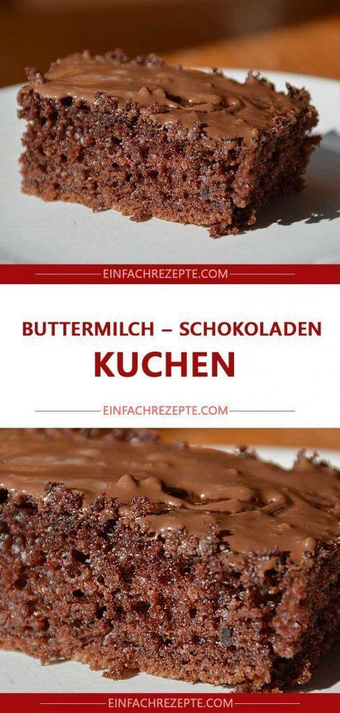 Buttermilch – Schokoladen – Kuchen 😍 😍 😍
