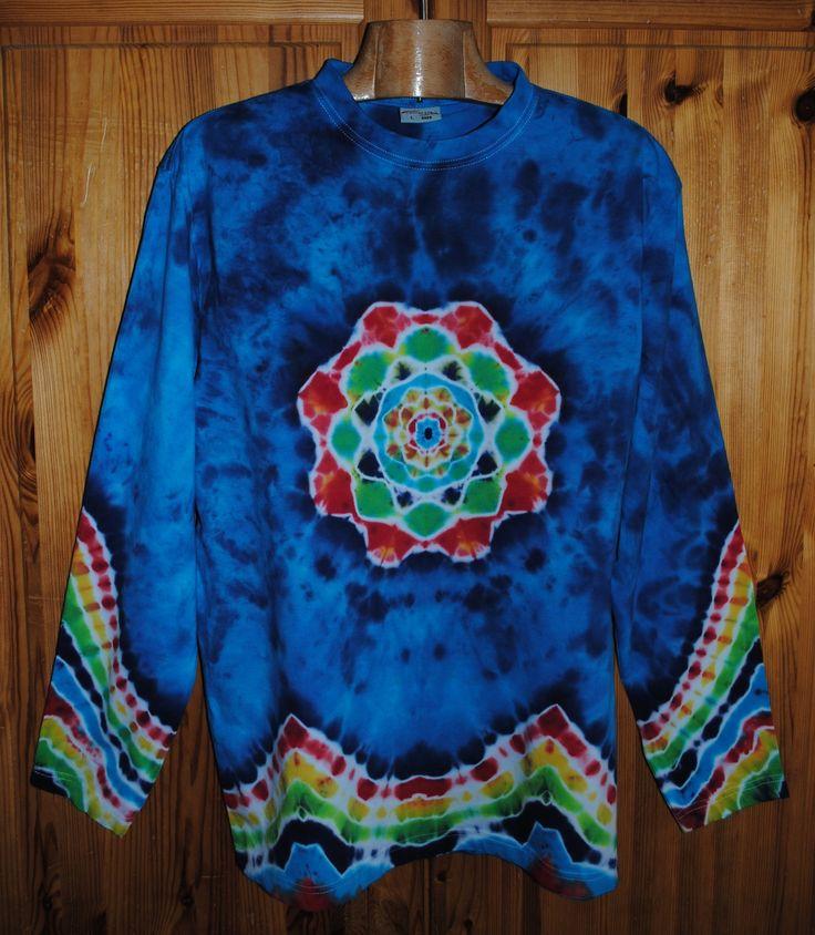Originální pánské batikované tričko.