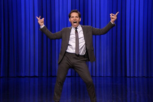The Tonight Show Starring Jimmy Fallon: Jimmy Fallon's Lip Sync Battle With Paul Rudd. BEST THING EVER.