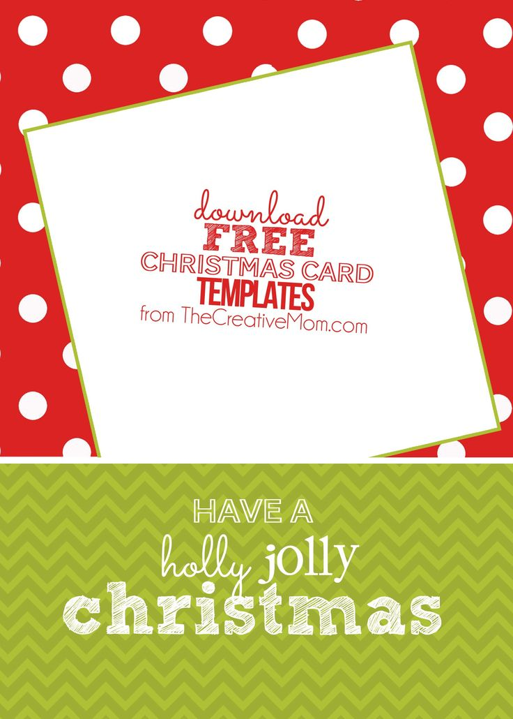 The 25+ best Free christmas card templates ideas on Pinterest - printable christmas card templates