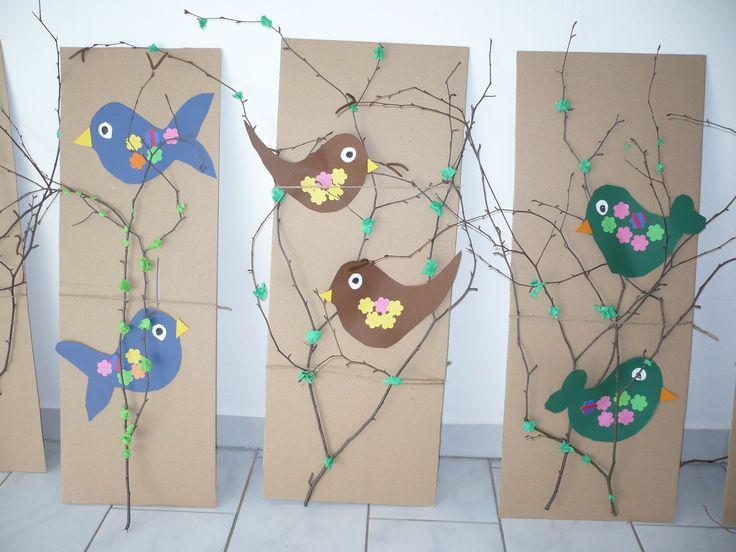 ptáčci na jaře