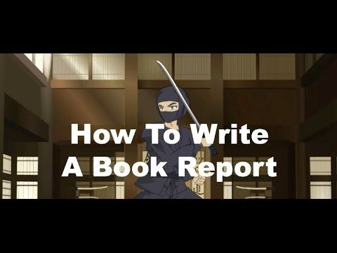 thesis of a book report