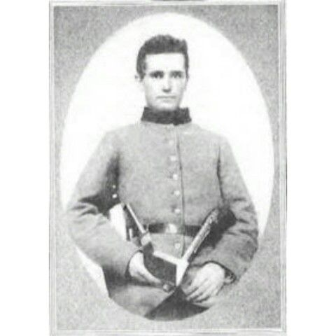 "Private Henry Howe Cook, 1st TN, Company D ""Williamson Grays,"" Maney's Brigade."