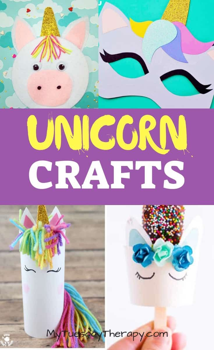 25 Easy Unicorn Crafts To Bring Magic To Your Child S Day