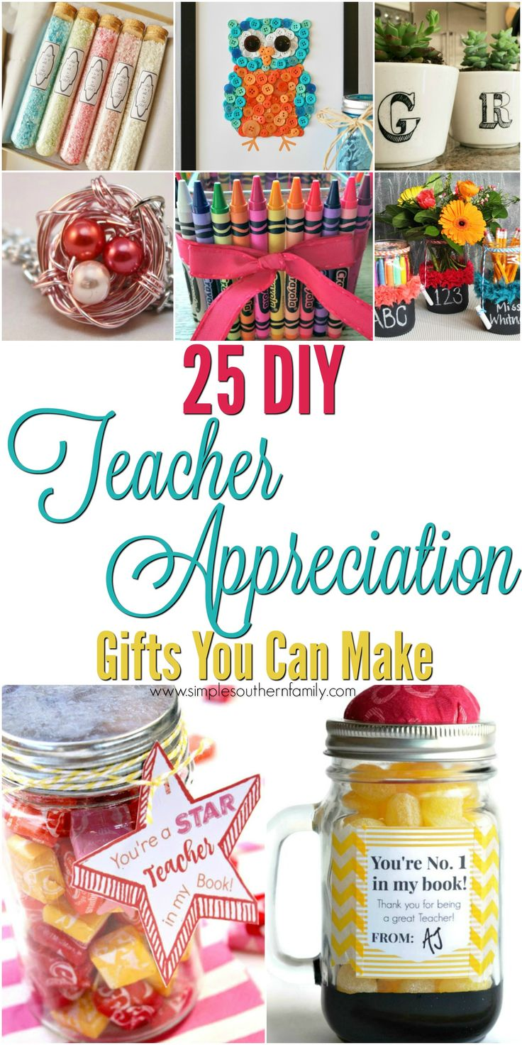 25 Teacher Appreciation Gifts  May 3rd is National Teacher Appreciation Day I know how hard teachers works from first hand experience. I can remember lesson planning until midnight and working all weekend for the upcoming weeks & months. Teachers work alot of overtime including Summers. But teachers do this becausethey love what they do