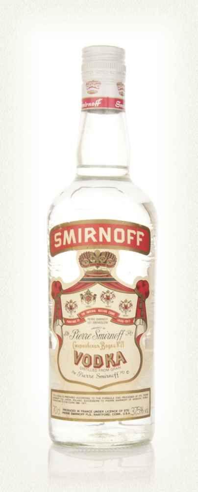 10 - Smirnoff - 1980s
