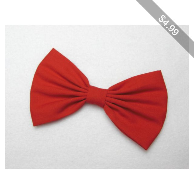 Red Hair Bow hair accessories hair clips red bow for hair bows for sale halloween hair accessories for women cute accessories cute hair bows