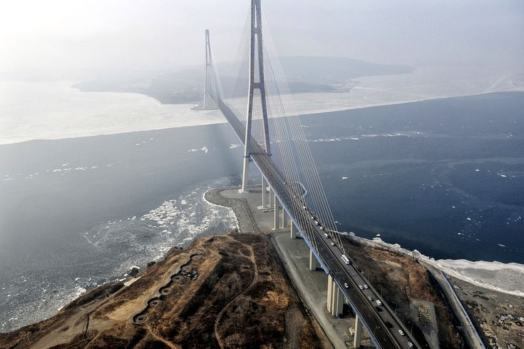 Russky Bridge, Vladivostok, Russia, photo 1