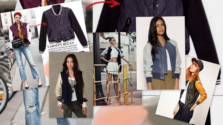 Trend della stagione 2014 è la Varsity Jacket, presa in prestito dai campus universitari americani, che incarna uno stile contemporaneo e trendy. Uno dei brand più famosi è American College, etichetta giovane, nata a New York, con l'obiettivo di mixare la moda tradizionale americana con quella innovativa europea.
